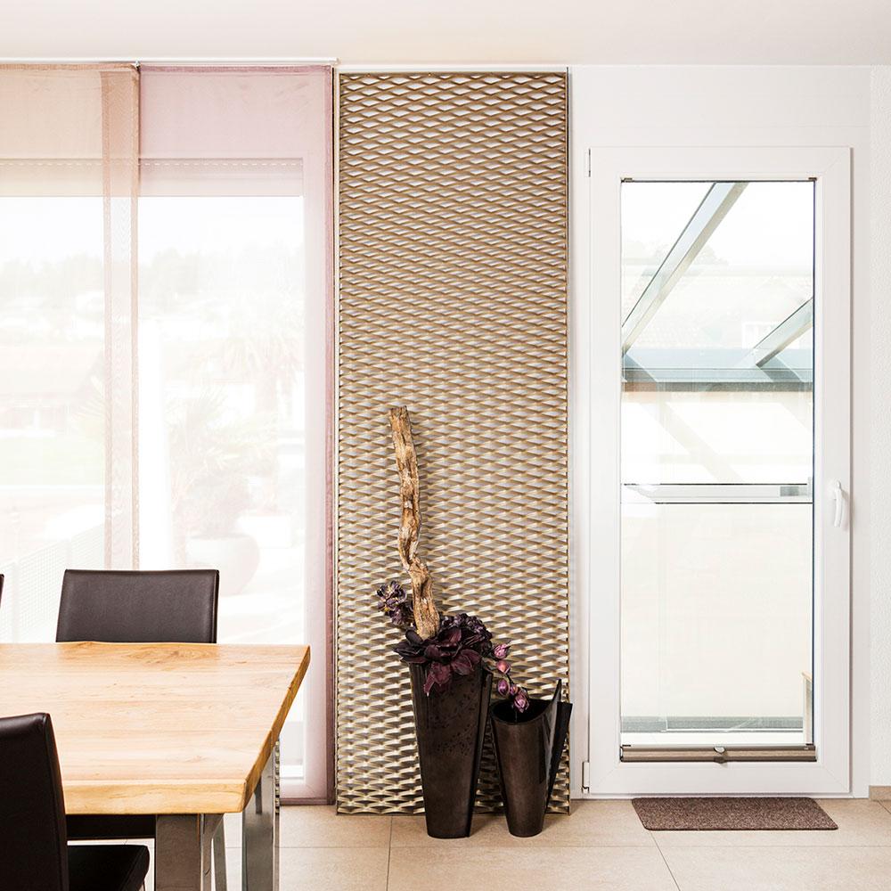 Metall Deko fürs Wohnzimmer